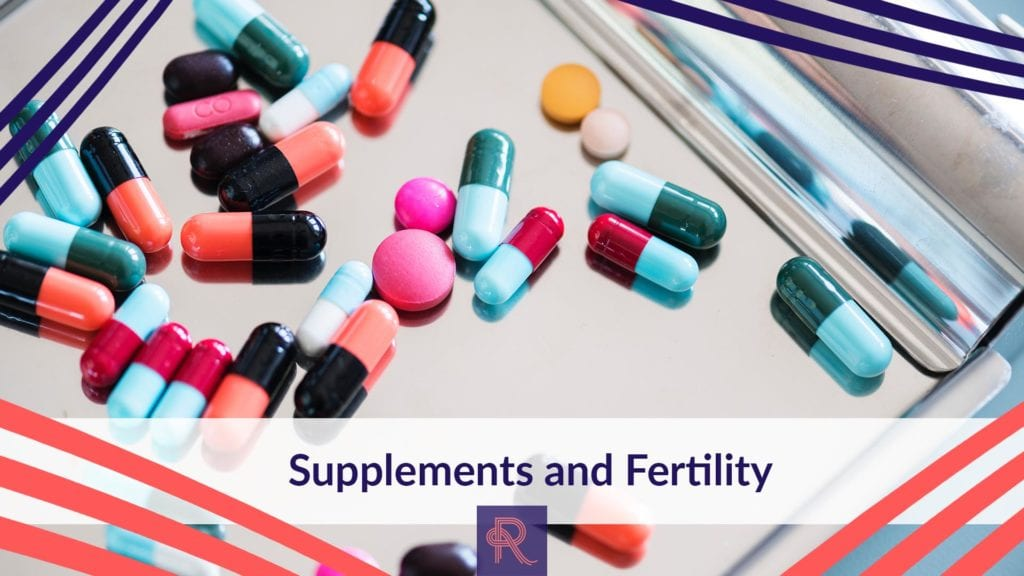 supplements and fertility